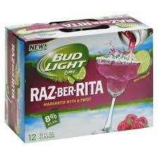 bud light lime a rita price 12 pack bud light raz ber rita 12pk 8oz cans target