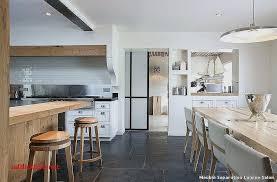 sejour cuisine separation cuisine sejour pour idees de deco de cuisine fraîche pour