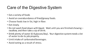 care u0026 problems of the digestive system chapter 18 lesson ppt download