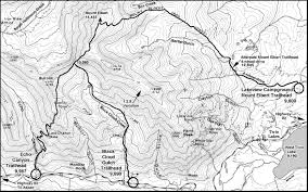 Colorado Fourteeners Map by Ski Touring Colorado Mount Elbert Is Highest Mountain In The State