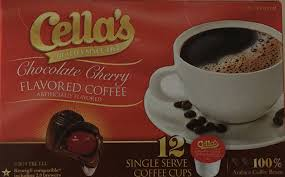 cella s chocolate cherry flavored coffee 12 count