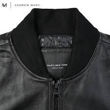 marc york andrew marc 2017 autumn winter genuine leather jacket