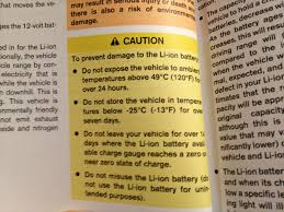 nissan leaf user manual nissan leaf battery warranty what you must do to keep it valid