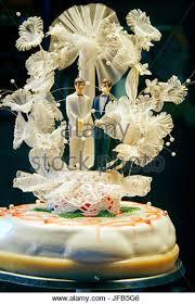 Big Wedding Cakes Big Red White Wedding Cake Stock Photos U0026 Big Red White Wedding