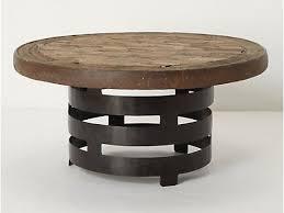 coffee table round iron coffee table glass top wrought iron round