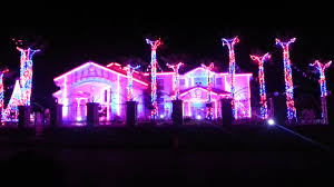 Christmas House Light Show by El Paso Fred Loya House Light Show Youtube