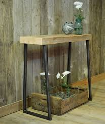 reclaimed wood entry table restoration hardware console table localizethis org dreamed