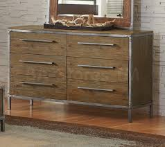 accessories arcadia contemporary industrial dresser with painted