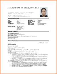 Sample Chemical Engineering Resume Download Resume For Electrical Engineer Free Resume Example And