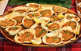 feast of the seven fishes baked clams italian style day one