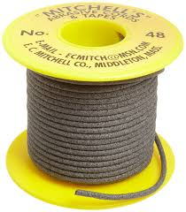 mitchell abrasives 48 round abrasive cord aluminum oxide 150 grit