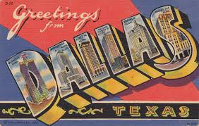 greetings from dallas postcard roundup