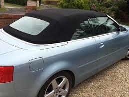audi 4 door convertible soft top car hood replacement norwich norfolk top job