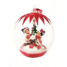 mickey and minnie mouse tree bauble de