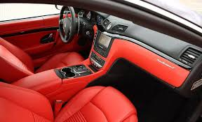 maserati quattroporte interior 2015 2015 maserati granturismo convertible information and photos