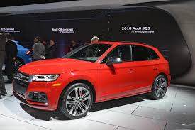 2018 audi sq5 debuts in detroit doesn u0027t look as good as glc 43