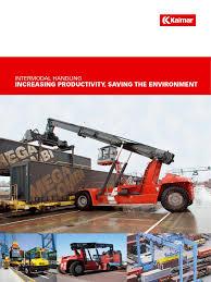 transporte intermodal intermodal freight transport crane machine