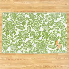 Green Outdoor Rug Henri Floral Rio Mat Green White Outdoor Rugs U0026 Mats Co
