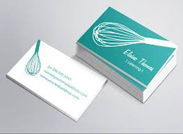 Catering Calling Card Design Whisk Business Card Business Card Templates Creative Market