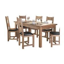 halo plum table u0026 6 chairs leekes