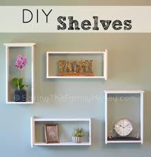 diy shelves unique and affordable homemade shelves