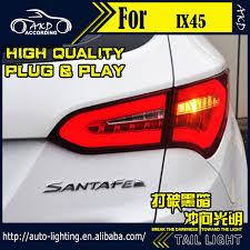 hyundai santa fe tail light assembly car styling tail l for hyundai ix45 santa fe led tail light 2014