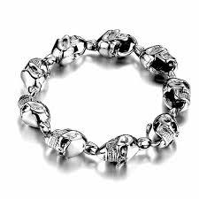 skull link bracelet images Skull link bracelet christenza jpg