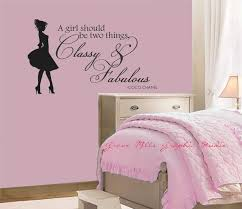 girls bedroom wall decals wall decals for teenage collection also charming bedroom images