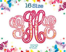 create monogram initials monogram initials etsy