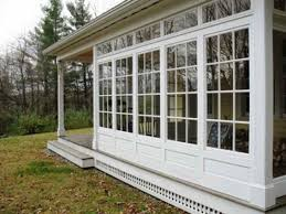 Three Season Porch Plans Deck Screened Porch 3 4 Season Sunroom Houzz We Wrestled A Few