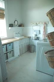 decorating baskets laundry room farmhouse with modern country