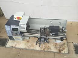 newest 850w variable speed mini metal lathe machine wm210v 38