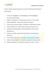 kaantasan ng pang uri worksheets for grade 2 worksheets