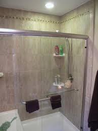 glass shower door towel bar replacement bathrooms 2