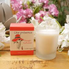 bougie jardin bougie parfumée brume de jardin parfum frais et relaxant thévert