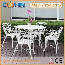 Black Cast Aluminum Patio Furniture Home Design Amazing Cast Aluminium Patio Set Aluminum With Black