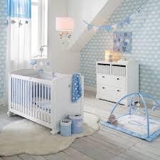 papier peint chambre b surprising inspiration papier peint chambre b id e d co gar on deco babies and room toile blanche et bleue coration motif nuage jpg