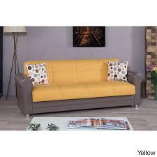 Yellow Sofa Bed Avalon Futon Convertible Sleeper Sofa Bed Free Shipping Today