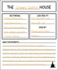 5 halloween worksheets u0026 printables for reading u0026 writing teachers