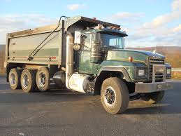 mack dump truck mack tri axle steel dump trucks for sale