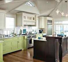 Two Color Kitchen Cabinet Ideas Two Tone Painted Kitchen Cabinet Ideas Size Of Cabinets Two