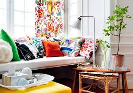 Bright Colored Curtains 15 Lively And Colorful Curtain Ideas For The Living Room Rilane