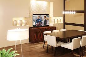 Tv In Dining Room 6 Clever Installation Ideas For Your Living Room Tv The