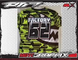 motocross jersey motocross jersey name u0026 number prints