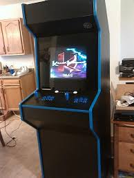 build your own arcade cabinet diy challenge custom built arcade emulator cabinet giveaway