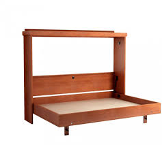 Wall Mounted Folding Bed Bedroom Awesome Simple Brown Wooden Murphy Bed As Wall Mounted