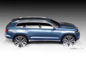 volkswagen jeep touareg new volkswagen crossblue 6 7 seater suv concept in more detail