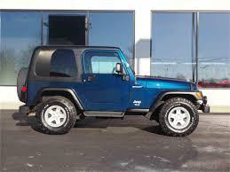 dark green jeep wrangler 2005 jeep wrangler for sale classiccars com cc 1046540