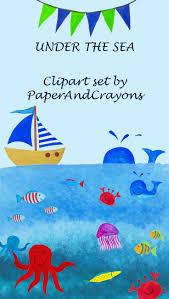 Das Schlafzimmer Clipart Die Besten 25 Under The Sea Clipart Ideen Auf Pinterest Baby