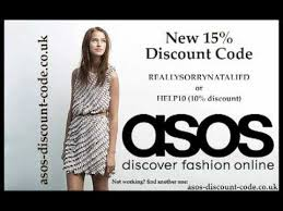 another 3 promo codes for asos com 10 15 off youtube